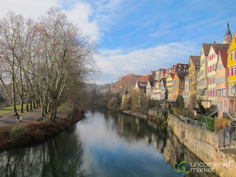 Tübingen on a Clear Day - Baden-Württemberg, Germany
