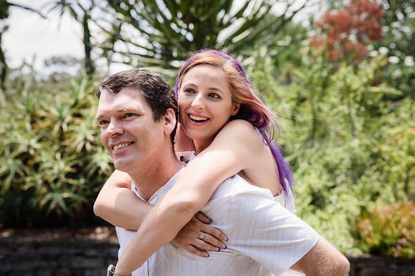 Leanne&Brendan: Mt Coot-tha Couple Session