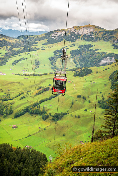 Ebenalp Cable Car