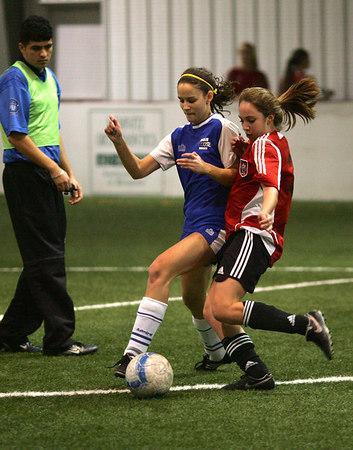 EP Storm U15 Soccer vs Eagan @ Indoor Soccer Blast (Feb 25, 2007)