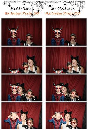 McClellan's Halloween Party 2013