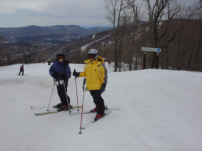 Skiing at Windham March 23, 2007