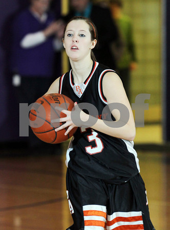 2013 Port Allegany Girls JV Basketball @ Coudersport