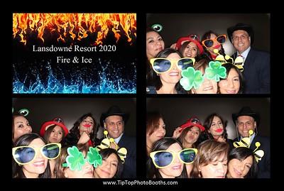 Lansdowne Resort Holiday Party 2020