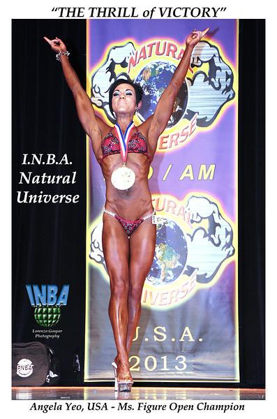 Angela Yeo 2013 Universe Figure Champion