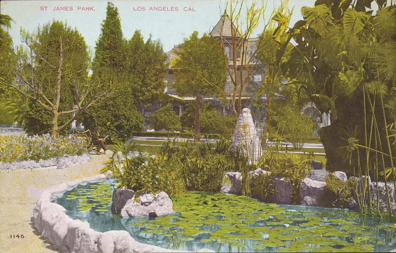St. James Park, Los Angeles, Cal.