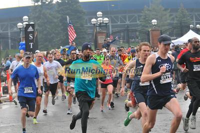 5K Start - 2012 Big House Big Heart Run