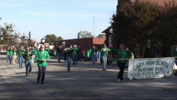 2010-10-30: Cary Band Day Parade