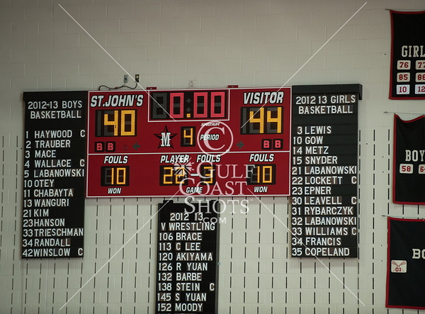 2013-02-01 Basketball Varsity Kinkaid @ St. John's