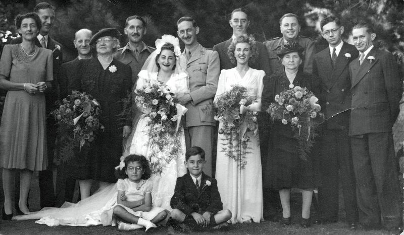 1945? - Brenda and Frank get married