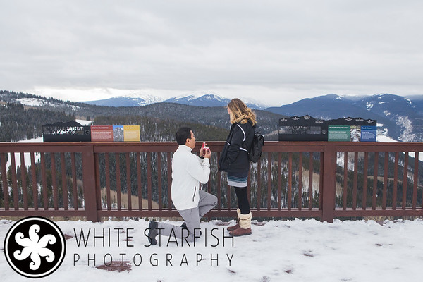 Vail Mountain Wedding Proposal - Joaquin and Alyssa