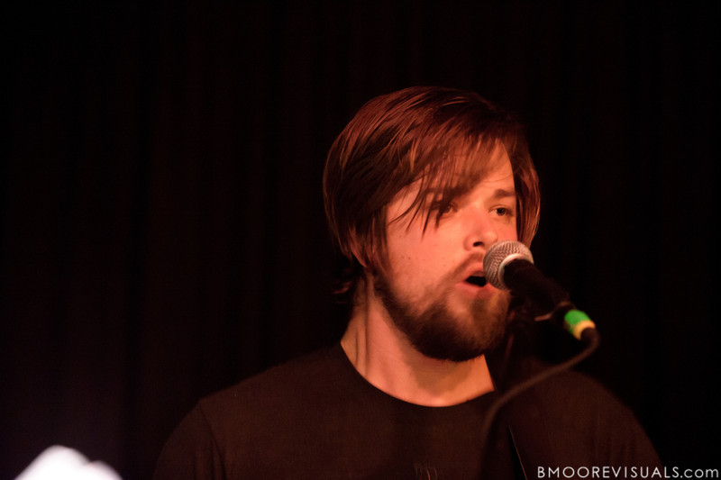 Andy Fitts performs with David Bazan on November 30, 2011 at Crowbar in Tampa, Florida