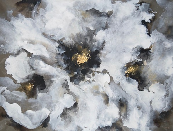 Lilium Blooms-Rei, 36x48 on canvas