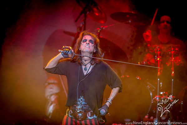 Alice Cooper At The Verizon Wireless Arena - NH