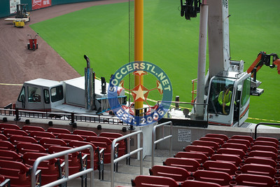 Busch Stadium WCQ Preparations