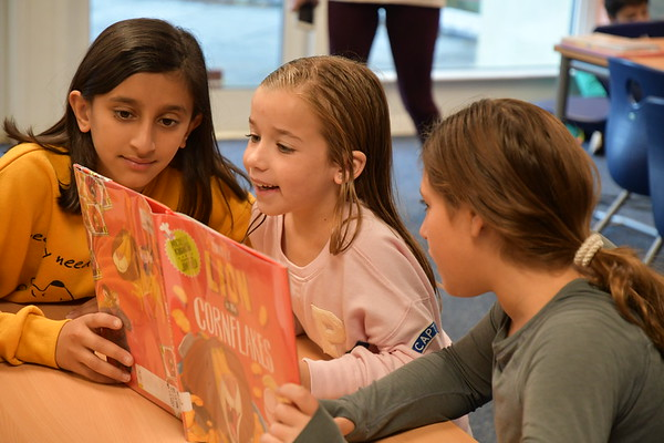 Reading Buddies in Second and Sixth Grades