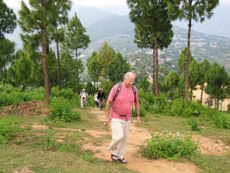 Peter Dhankuta ridge hike.JPG