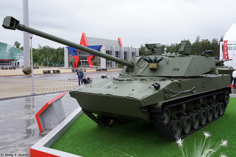 120-мм САО 2С42 Лотос (120mm self-propelled artillery 2S42 Lotos)