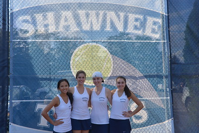 girls tennis vs Timber Creek 102114