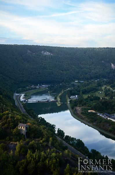 Sky on the Meuse
