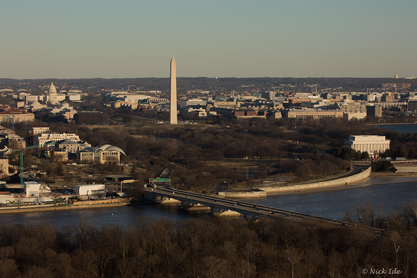 Moonrise over DC