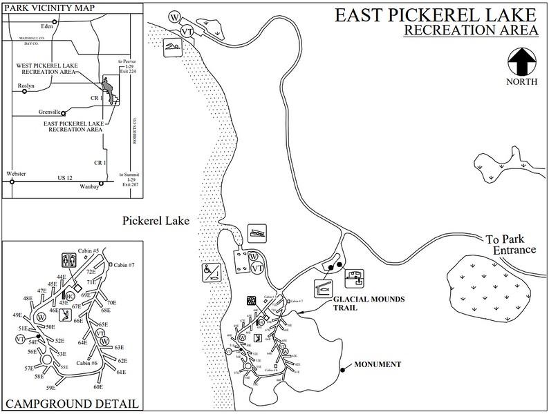 Pickerel Lake Recreation Area (East Section)
