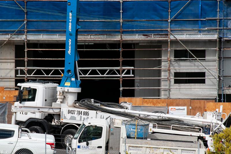 Building progress 129. At 47 Beane St. Gosford. September 2018.