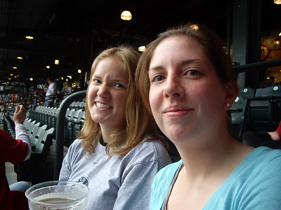 Mariners Game with the Cases