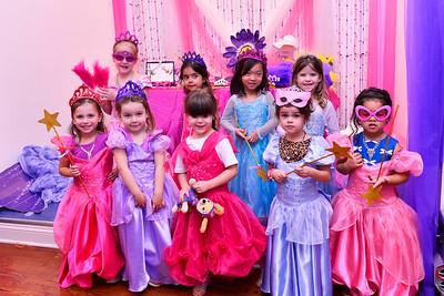 Liv's Princess Birthday Party