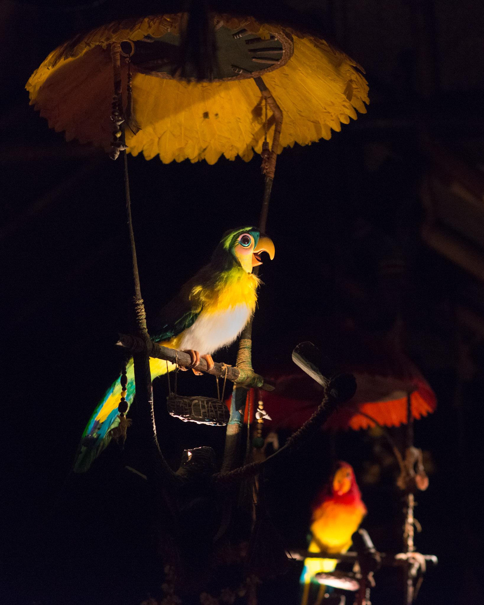 Tiki Bird - Walt Disney World Magic Kingdom