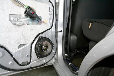 2008 Scion xB Rear Door Speaker Installation - USA