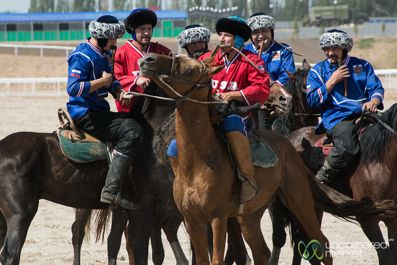 U.S. Kok-boru Team Plays Russia at World Nomad Games 2016 - Kyrgyzstan