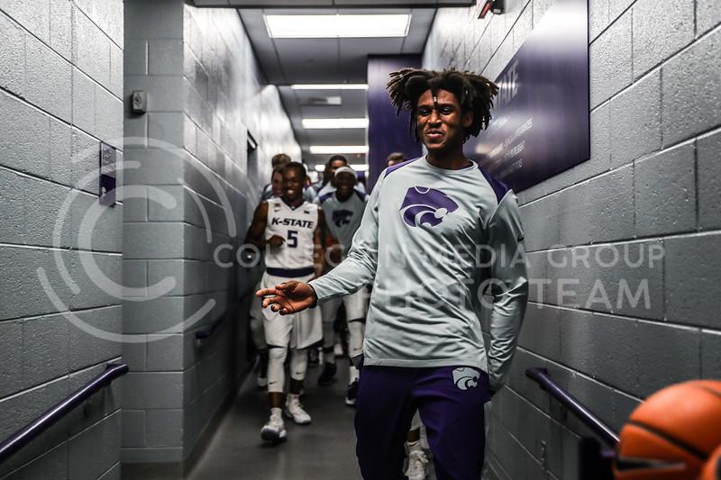 Oral Roberts University plays Kansas State University in Basketball at Bramlage Coliseum in Manhattan, Kansas on November 29th, 2017 (Photo by Cooper Kinley | K-State Athletics / Collegian Media Group)