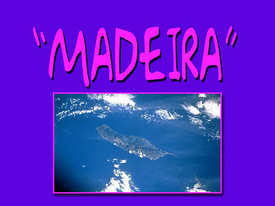 To remember the day's in Madeira (1996 & 2000) Deel 1...