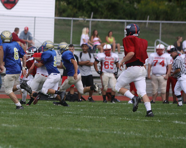 Football Scrimmage 8-25-12