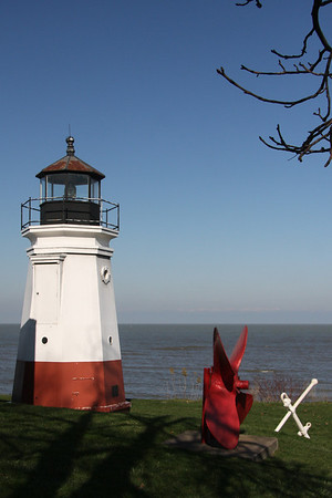 Vermilion's beautiful Lighthouse November 2012