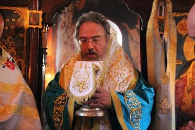 2013 Λειτουργία Μητροπολίτου Πρεβέζης κ. Χρυσοστόμου