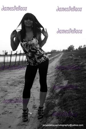 Photo by James DeBaca. Model Chelsea Davis