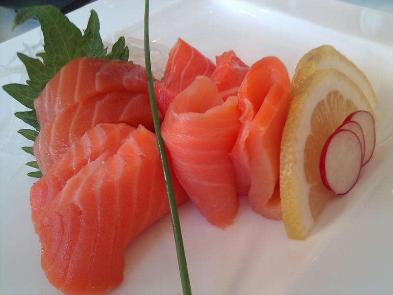 Kabuto Japanese Restaurant - Salmon Sampler