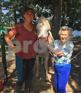 local-woman-receives-surprise-visit-to-tyler-rose-horse-park