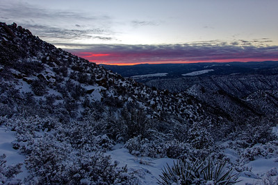 Sandia Mountains 2019-01-12