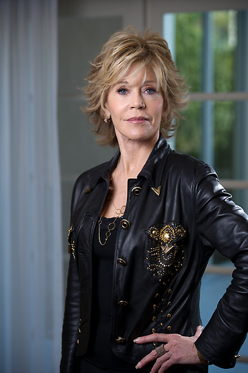 . Actress Jane Fonda is in the movie \'Peace, Love, & Misunderstanding.\' Photographed at the Four Season Hotel in Los Angeles, Monday, May 7, 2012. (Michael Owen Baker/Staff Photographer)