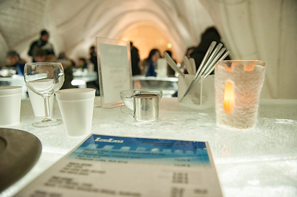 Dining in the SnowRestaurant