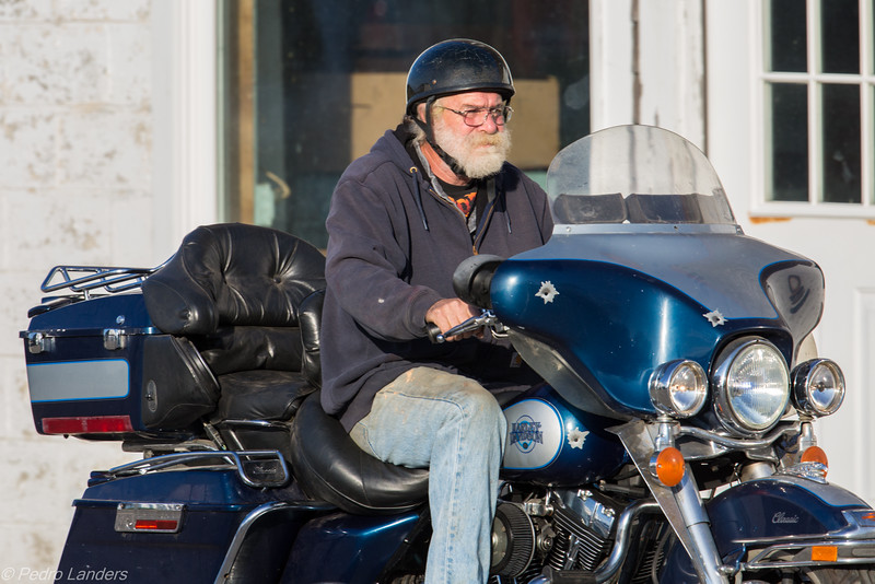The Man on the Harley