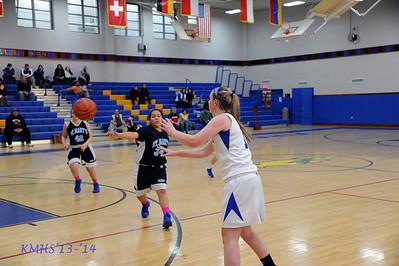 Girls JV Basketball 1-31-14BroRoger