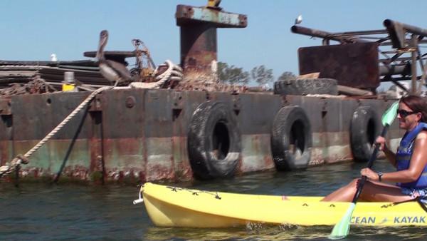 2009 Kayaking in Newport Back Bay