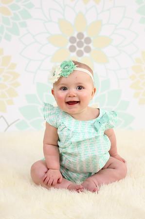 Olivia 6 Months