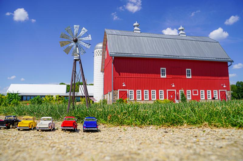 Farm, Windmill, Arboretum, Ford Truck.JPG