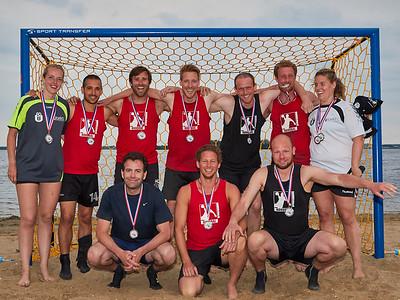 Molecaten NK Beach Handball 2015 Prijsuitreiking