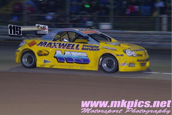 National Hot Rod 2012 Thunder 500 Championship - Martin Kingston